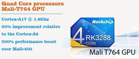RK3288 Quad Core Processors