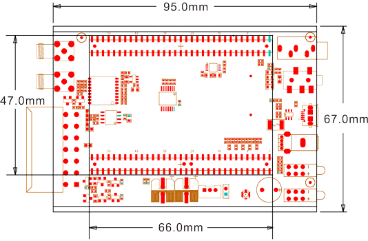 vehicle tracking device PCB